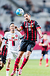 FC Seoul Forward Dejan Damjanovic (R) in action during the AFC Champions League 2017 Group F match between FC Seoul (KOR) vs Western Sydney Wanderers (AUS) at the Seoul World Cup Stadium on 15 March 2017 in Seoul, South Korea. Photo by Chung Yan Man / Power Sport Images