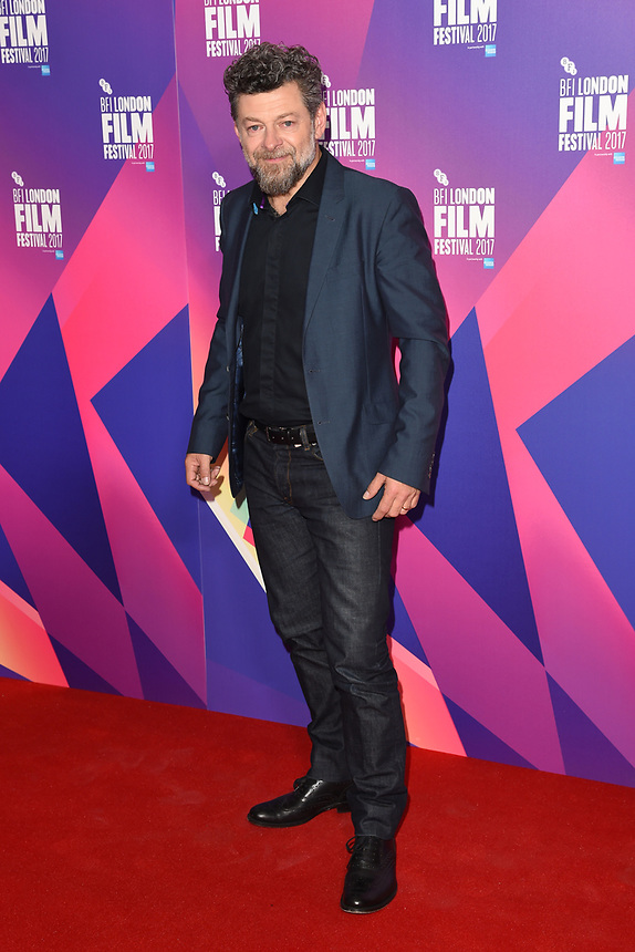 """Andy Serkis<br /> at the photocall for the London Film Festival 2017 screening of """"Breathe"""" at the Mayfair Hotel, London<br /> <br /> <br /> ©Ash Knotek  D3317  04/10/2017"""