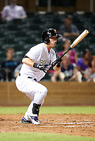 Salt River Rafters outfielder Corey Dickerson #8, of the Colorado Rockies organization, during an Arizona Fall League game against the Mesa Solar Sox at Salt River Fields at Talking Stick on October 9, 2012 in Scottsdale, Arizona.  Salt River defeated Mesa 6-5.  (Mike Janes/Four Seam Images)
