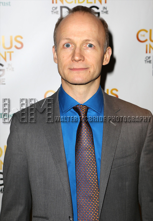 Richard Hollis attends the Broadway Opening Night Performance After Party for 'The Curious Incident of the Dog in the Night-Time'  at Urbo on October 5, 2014 in New York City.