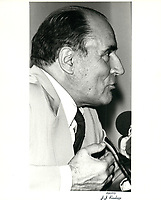 Visite du President francais Francois Mitterand, 21 juillet 1981<br /> <br /> <br /> <br /> PHOTO :  Agence Quebec Presse