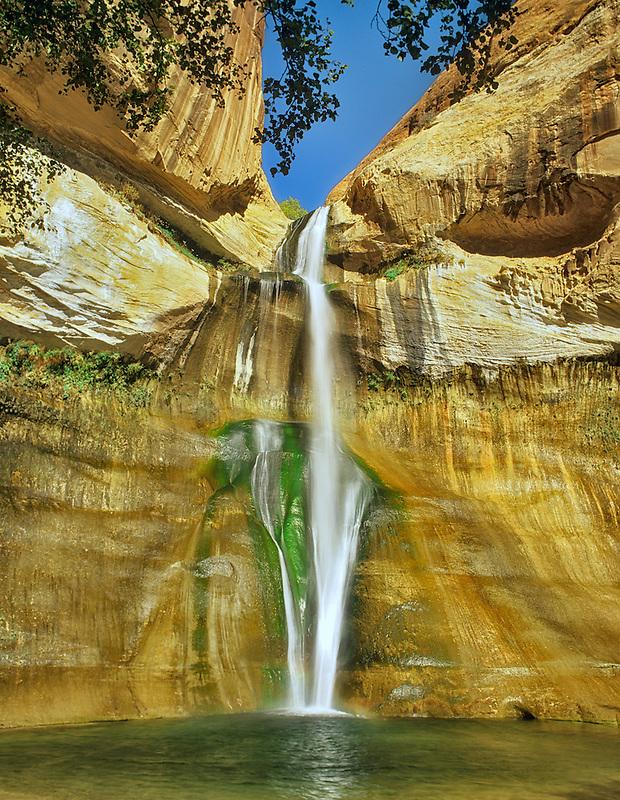 Lower Calf Creek Falls. Grand Staircase-Escalante National Monument, Utah