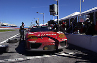 .The Risi Competizione Ferrari makes its final stop on the way to second...