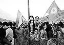 Iraq 2010  .Women, supporters of PKK, celebrating Nowruz in Qandil  .Irak 2010 .Femmes, sympathisantes du PKK, celebrant Nowruz a Qandil
