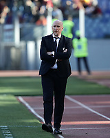 Football, Serie A: AS Roma - Cagliari, Olympic stadium, Rome, April 27, 2019. <br /> Cagliari's coach Rolando Maran looks on during the Italian Serie A football match between AS Roma and Cagliari, on April 27, 2019. <br /> UPDATE IMAGES PRESS/Isabella Bonotto