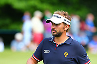 Joost Luiten at the 15th green during the BMW PGA Golf Championship at Wentworth Golf Course, Wentworth Drive, Virginia Water, England on 27 May 2017. Photo by Steve McCarthy/PRiME Media Images.