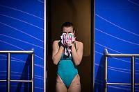 Skrzek Kaja POL<br /> Diving - Women's 3m preliminary<br /> XXXV LEN European Aquatic Championships<br /> Duna Arena<br /> Budapest  - Hungary  15/5/2021<br /> Photo Giorgio Perottino / Deepbluemedia / Insidefoto