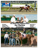 Our Machine winning The Liberty Bell Arabian Stakes at Delaware Park on 7/2/07