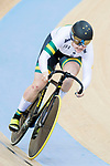 The team of Australia with Kaarle McCulloch and Stephanie Morton competes in the Women's Team Sprint Final match as part of the 2017 UCI Track Cycling World Championships on 12 April 2017, in Hong Kong Velodrome, Hong Kong, China. Photo by Victor Fraile / Power Sport Images