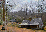 """The Noah """"Bud"""" Ogle Homestead in the Great Smoky Mountains National Park. Smoky Mountain photos by Gordon and Jan Brugman."""