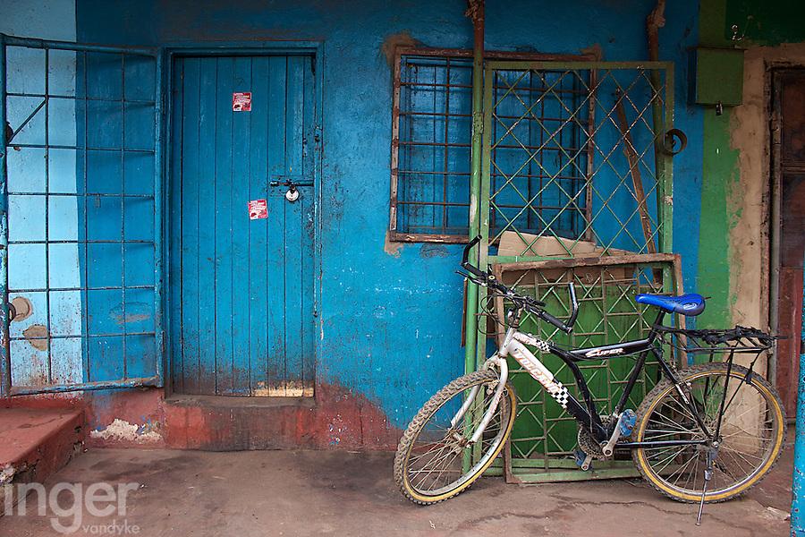 Bicycle at Dambwa Central Market, Livingstone, Zambia