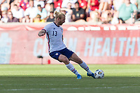 SANDY, UT - JUNE 10: Tim Ream #13 of the United States passes the ball during a game between Costa Rica and USMNT at Rio Tinto Stadium on June 10, 2021 in Sandy, Utah.
