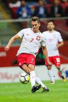 04.09.2017, Warszawa, pilka nozna, kwalifikacje do Mistrzostw Swiata 2018, Polska - Kazachstan, Arkadiusz Milik (POL), Poland - Kazakhstan, World Cup 2018 qualifier, football, fot. Tomasz Jastrzebowski / Foto Olimpik <br /><br />POLAND OUT !!! *** Local Caption *** +++ POL out!! +++<br /> Contact: +49-40-22 63 02 60 , info@pixathlon.de