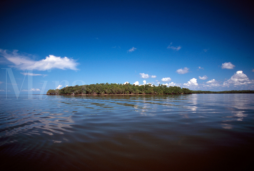 Indian Key in Ten Thousand Islands in the Florida Everglades.