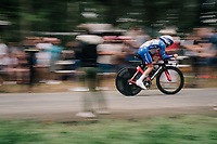 David Gaudu (FRA/Groupama - FDJ)<br /> <br /> Stage 20 (ITT): Saint-Pée-sur-Nivelle >  Espelette (31km)<br /> <br /> 105th Tour de France 2018<br /> ©kramon