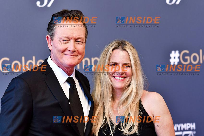 Robert Patrick et sa femme Monaco - 20/06/2017<br /> 57 festival TV Monte Carlo <br /> Foto Norbert Scanella / Panoramic / Insidefoto