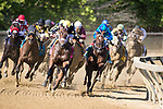 May 15, 2021 : Special Reserve, #8, ridden by jockey Irad Ortiz Jr., wins the Maryland Sprint Match Series Stakes on Preakness Stakes Day at Pimlico Race Track in Baltimore, Maryland on May 15, 2021. Wendy Wooley/Eclipse Sportswire/CSM