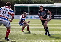 Api Pewhairangi of the London Broncos during the Kingstone Press Championship match between London Broncos and Rochdale Hornets at Castle Bar , West Ealing , England  on 26 March 2017. Photo by Steve Ball / PRiME Media Images.