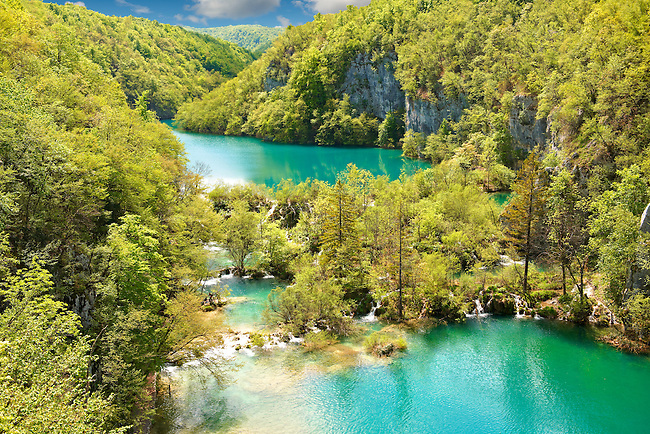 Plitvince Lakes, Croatia.