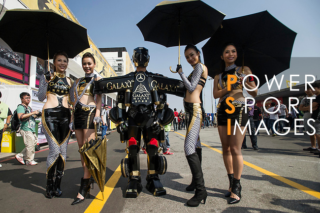Competitors of Galaxy Macao Team during the 60th GP Macao on November 16, 2013 at Macao street circuit in Macao, China. Photo by Xaume Olleros / The Power of Sport Images