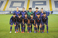 20190227 - LARNACA , CYPRUS : Team Thailand pictured during a women's soccer game between Thailand and Hungary , on Wednesday 27 February 2019 at the Antonis Papadopoulos Stadium in Larnaca , Cyprus . This is the first game in group B for both teams during the Cyprus Womens Cup 2019 , a prestigious women soccer tournament as a preparation on the FIFA Women's World Cup 2019 in France and the Uefa Women's Euro 2021 qualification duels. PHOTO SPORTPIX.BE | STIJN AUDOOREN
