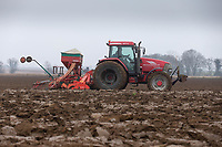 8/1/2021 Drilling Winter Wheat following sugar beet in Lincolnshire <br /> ©Tim Scrivener Photographer 07850 303986<br />      ....Covering Agriculture In The UK....