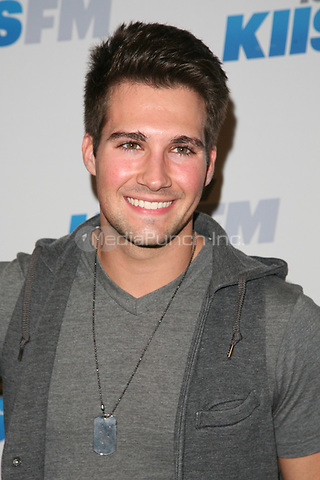 LOS ANGELES, CA - DECEMBER 01: James Maslow at KIIS FM's 2012 Jingle Ball at Nokia Theatre L.A. Live on December 1, 2012 in Los Angeles, California. Credit: mpi21/MediaPunch Inc.