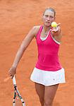 Yanina Wickmayer (BEL) defeats Caroline Wozniacki (DEN) 7-6, 4-6, 6-2
