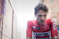 Maxime Monfort (BEL/Lotto-Soudal) after finishing the closing time trial<br /> <br /> stage 21: Monza - Milano (29km)<br /> 100th Giro d'Italia 2017