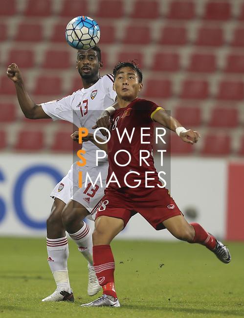 United Arab Emirates vs Vietnam during the AFC U23 Championship 2016 Group D match on January 20, 2016 at the Grand Hamad Stadium in Doha, Qatar. Photo by Karim Jaafar / Lagardère Sports