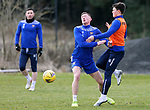 St Johnstone Training... 05.03.21<br />Liam Grodn and Glenn Middleton pictured during training at McDiarmid Park this morning...<br />Picture by Graeme Hart.<br />Copyright Perthshire Picture Agency<br />Tel: 01738 623350  Mobile: 07990 594431