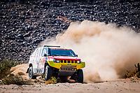6th January 2021; Wadi Al Dawasir to Riyadh, Saudia Arabia; Dakar 2021 Rally, stage 4;  361 Lu Binglong (chn), Ma Wenke (chn), Baic, Baic ORV, Auto, action during the 4th stage of the Dakar 2021 between Wadi Al Dawasir and Riyadh, in Saudi Arabia on January 6, 2021