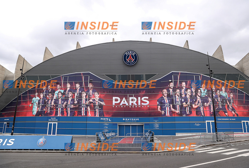 Soccer Football - Champions League - Round of 16 Second Leg - Paris St Germain v Borussia Dortmund - Parc des Princes, Paris, France - March 11, 2020  General view outside the stadium before the match which will be played behind closed doors as the number of coronavirus cases grow around the world    <br /> Photo Pool/Panoramic/Insidefoto