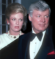 Phyllis George John Brown 1982<br /> Photo By John Barrett/PHOTOlink