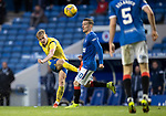 Rangers v St Johnstone…25.04.21   Ibrox.  Scottish Cup<br />Ali McCann shoots overt the bar<br />Picture by Graeme Hart.<br />Copyright Perthshire Picture Agency<br />Tel: 01738 623350  Mobile: 07990 594431