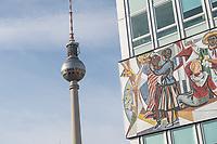 2020/10/25 Berlin   Haus des Lehrers   Fernsehturm