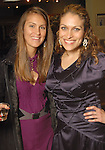 Judith Mancel and Carla Munoz at the Les Provinciales Design for a Cause event at Roche Bobois Thursday Dec. 10,2009.(Dave Rossman/For the Chronicle)