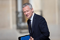 French Economy Minister Bruno Le Maire arrives to the Elysee presidential palace for the weekly cabinet meeting on Wednesday, 28 June 2017 in Paris # CONSEIL DES MINISTRES DU 28/06/2017