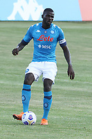 Kalidou Koulibaly of SSC Napoli during the friendly football match between SSC Napoli and Castel di Sangro Cep 1953 at stadio Patini in Castel di Sangro, Italy, August 28, 2020. <br /> Photo Cesare Purini / Insidefoto