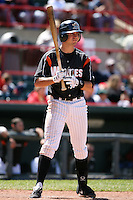May 31, 2009:  Cale Iorg of the Erie Seawolves at bat during a game at Jerry Uht Park in Erie, NY.  The Seawolves are the Eastern League Double-A affiliate of the Detroit Tigers.  Photo by:  Mike Janes/Four Seam Images