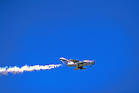 Mikoyan-Gurevich MiG-15 Military Aircraft in Flight - at Abbotsford International Airshow, BC, British Columbia, Canada