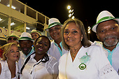 Imperatriz Leopolinense Samba School, Carnival, Rio de Janeiro, Brazil, 26th February 2017. The 'Old Guard' - older people of the samba school.