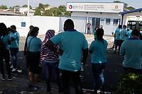 11/11/2020 - MOTORISTAS DE VANS DO PROJETO LIGADO PROTESTAM NA EMTU EM CAMPINAS