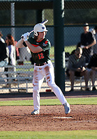 Dylan Crews takes part in the 2019 Under Armour Pre-Season All-America Tournament at the Chicago Cubs and Oakland Athletics training complexes on January 19-20, 2019 in Mesa, Arizona (Bill Mitchell)
