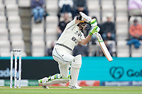 Tom Latham, New Zealand drives through the off side during India vs New Zealand, ICC World Test Championship Final Cricket at The Hampshire Bowl on 20th June 2021