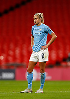 1st November 2020; Wembley Stadium, London, England; Womens FA Cup Final Football, Everton Womens versus Manchester City Womens; Steph Houghton of Manchester City Women