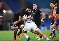 12th September 2021; Cbus Super Stadium, Robina, Queensland, Australia; Rugby International series, New Zealand versus Argentina:  Akira Ioane.