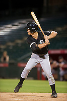 AZL White Sox right fielder JJ Muno (15) at bat against the AZL Angels on August 14, 2017 at Diablo Stadium in Tempe, Arizona. AZL Angels defeated the AZL White Sox 3-2. (Zachary Lucy/Four Seam Images)