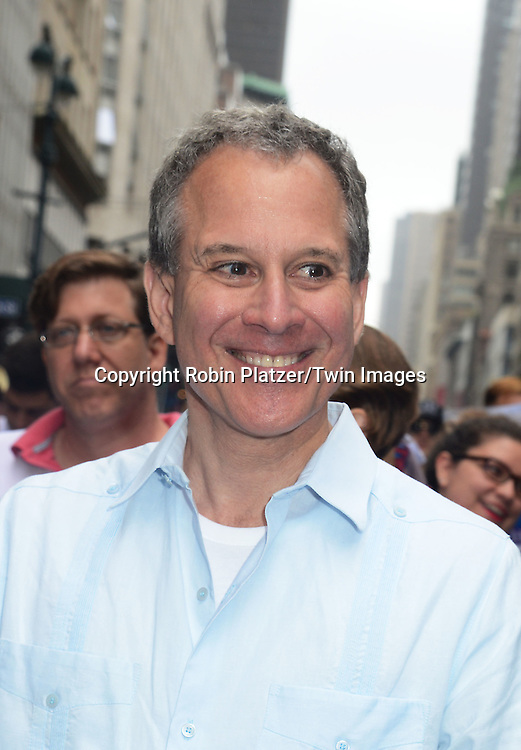 Attorney General Eric Schneiderman attends the 2015 NYC Pride March on June 28, 2015 on Fifth Avenue in New York City. <br /> <br /> photo by Robin Platzer/Twin Images<br />  <br /> phone number 212-935-0770
