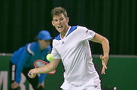 09-02-14, Netherlands,Rotterdam,Ahoy, ABNAMROWTT, Dominic Thiem<br /> Photo:Tennisimages/Henk Koster